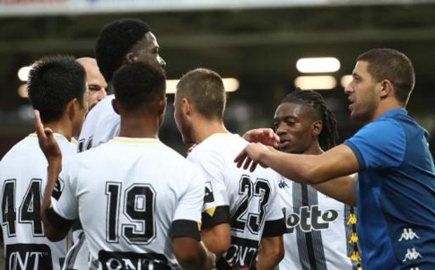 Jupiler Pro League - Klinisch Charleroi behoudt zijn maximum aan de Gaverbeek