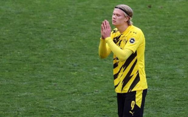 Dortmund ne va pas vendre Haaland sous la pression, assure le patron du club