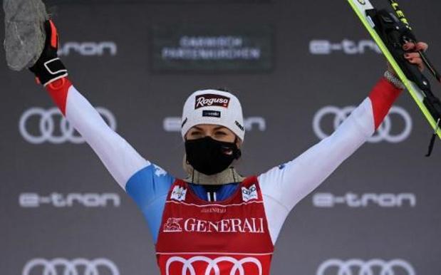 Lara Gut-Behrami remporte le super-G, son premier titre dans des Mondiaux