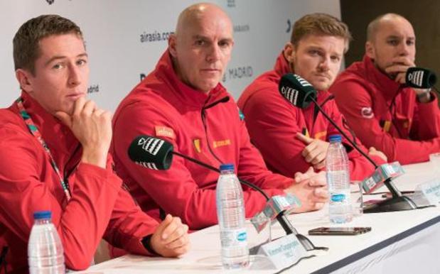 """Coupe Davis - Johan Van Herck, le capitaine belge : """"Atteindre au minimum les quarts de finale"""""""