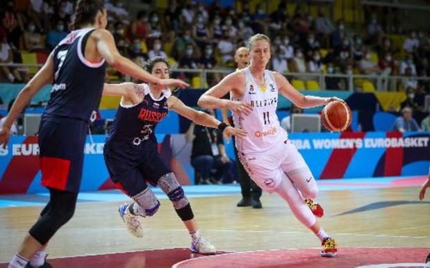 Cinq clubs de basket belges chez les dames, dont deux devront passer par un tour préliminaire