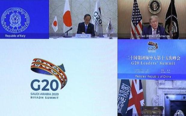 """G20: Trump défend le retrait de l'accord """"injuste"""" de Paris sur le climat"""