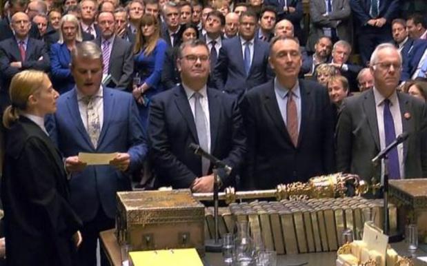 Brexitwet neemt eerste horde in Brits parlement
