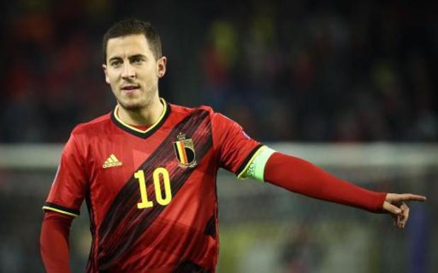 Diables Rouges - Eden Hazard désigné figure la plus emblématique de l'histoire du football belge