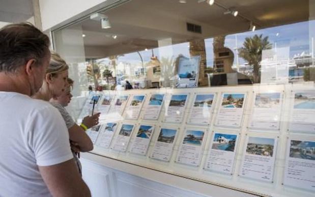 Dix pour cent des résidences secondaires étrangères achetées par des Belges en Espagne