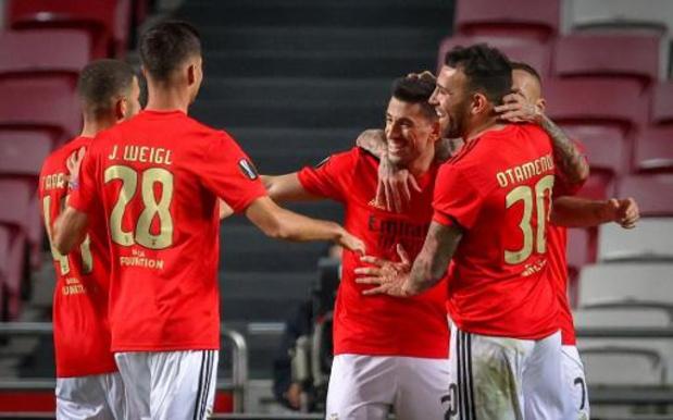 Le Standard s'incline logiquement 3-0 à Benfica