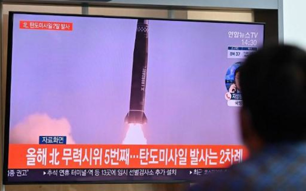 La Corée du Sud tire un missile balistique depuis un sous-marin
