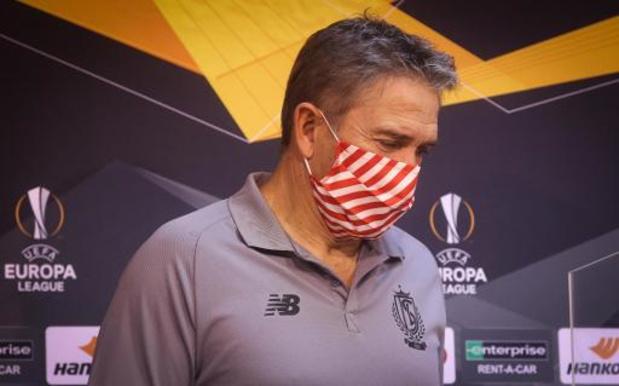 "Europa League - Ontgoochelde Philippe Montanier na nederlaag Standard: ""Ons niveau was onvoldoende"""