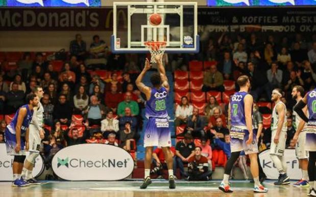Euromillions Basket League - Victoires pour Mons à Alost, Anvers contre le Brussels et Malines face à Liège