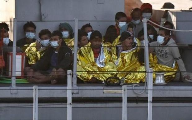 Meer dan 500 bootvluchtelingen aangekomen op Lampedusa