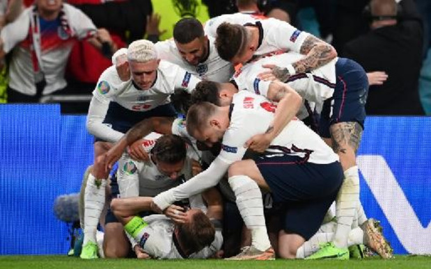 Euro 2020 - L'Angleterre se défait du Danemark après prolongations et rejoint l'Italie en finale