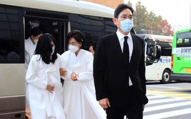 Le patron de l'empire Samsung inhumé au sud de Séoul