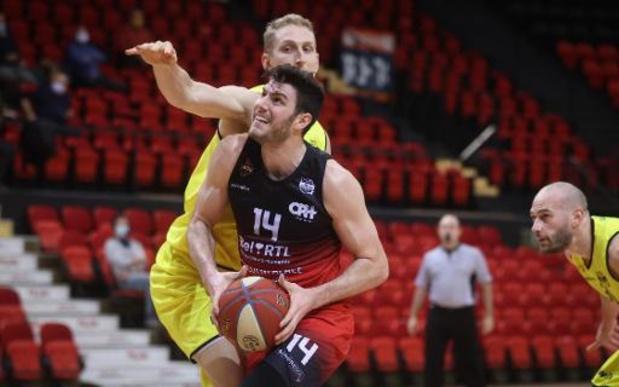 EuroMillions Basket League - Oostende wint probleemloos in Charleroi