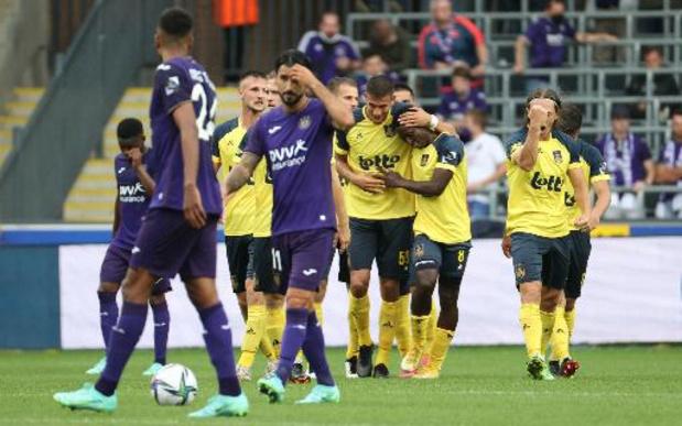 Jupiler Pro League - L'Union marque son retour en première division en s'imposant dans le derby bruxellois