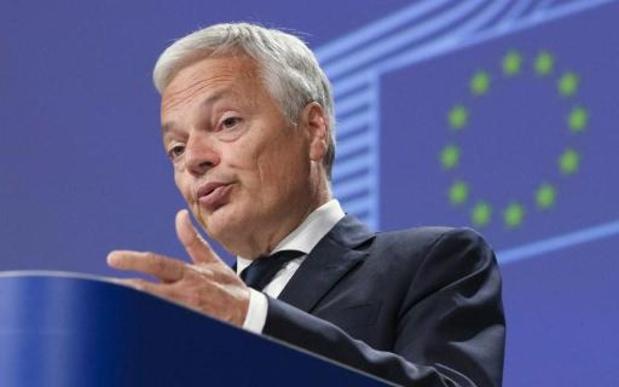 Reynders vraagt steun Europees Parlement voor strenge procedure rechtsstaat