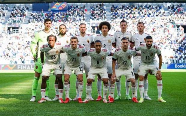 Diables Rouges: le partage du Brésil permet à la Belgique de rester première au classement FIFA