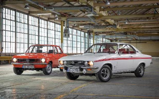 50 jaar Opel Ascona en Manta