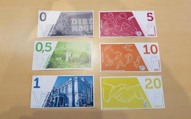Plus d'un million d'unités de monnaies locales en circulation en Belgique francophone