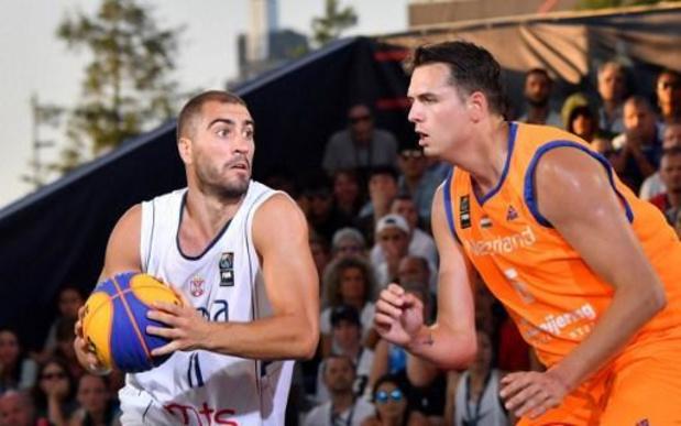 La FIBA 3x3 Europe Cup d'Anvers annulée