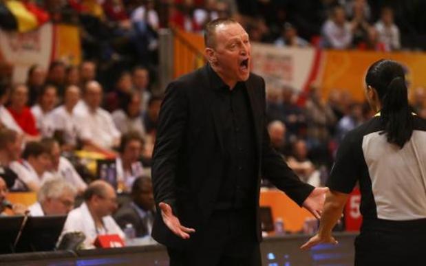 Bondscoach Philip Mestdagh stopt na dit seizoen als coach bij Namen