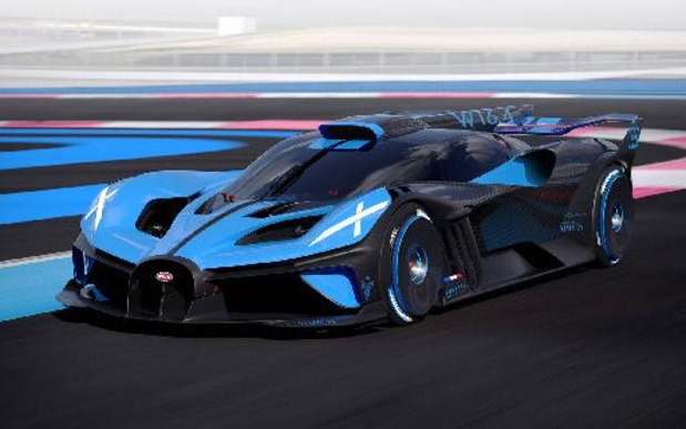 Bugatti Bolide, gebouwd als recordwagen