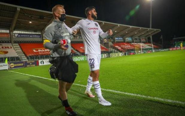 Jupiler Pro League - Elias Cobbaut sera absent quatre mois à cause d'une fracture de la cheville