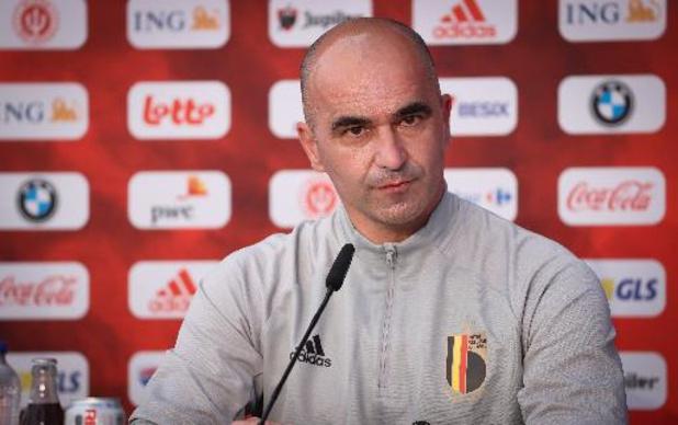 """EK 2020 - Roberto Martinez verwacht """"emotionele"""" wedstrijd in Denemarken"""