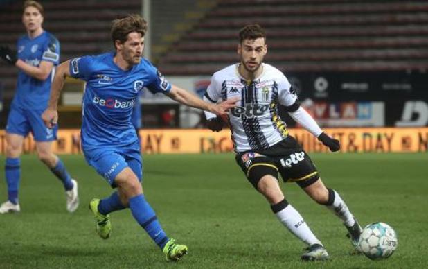 Jupiler Pro League - Charleroi battu 1-2 par Genk, qui reprend la 3e place