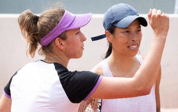 Wimbledon - Elise Mertens en huitièmes de finale du double dames