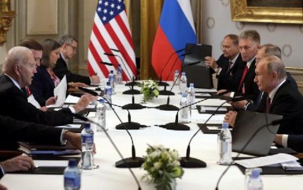 """Après Biden-Poutine, Moscou salue le """"bon sens"""" américain sur le dialogue stratégique"""