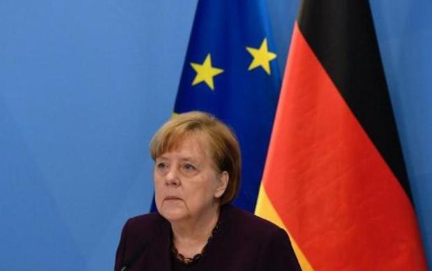 Bondskanselier Merkel: Duitsland zit in derde coronagolf