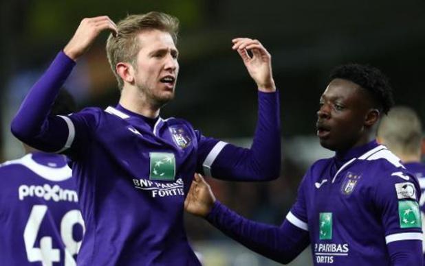 Jupiler Pro League - Anderlecht s'impose 0-3 à Waasland-Beveren, Vlap signe un doublé