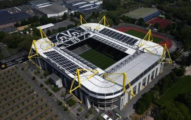 Le match de la Ligue des Champions Dortmund - Zénith Saint-Pétersbourg à huis clos