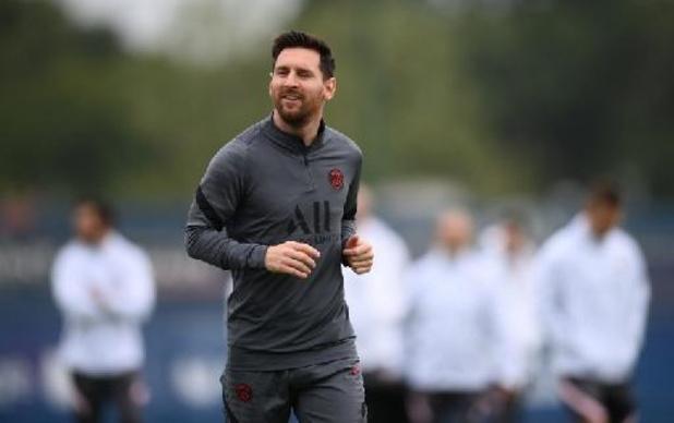 Lionel Messi keert terug in selectie PSG voor clash tegen Manchester City