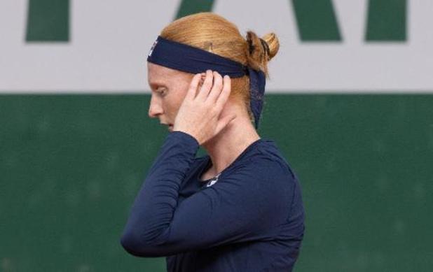 Roland Garros - Van Uytvanck geeft op vanwege migraine, zeker geen COVID-19