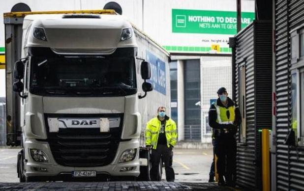 Frankrijk en Verenigd Koninkrijk overleggen over heropenen grens