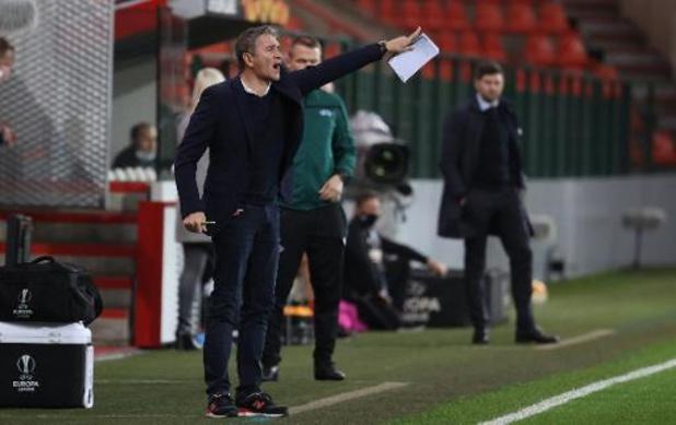 """Europa League - Montanier déçu et lucide après le revers du Standard: """"Notre niveau était insuffisant"""""""