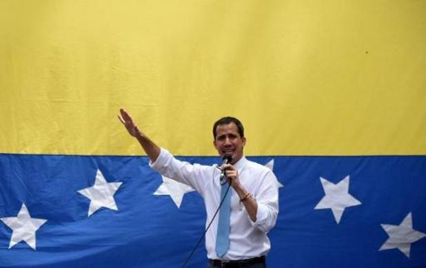 Juan Guaido zit in Franse ambassade in Caracas, zegt Venezolaanse minister