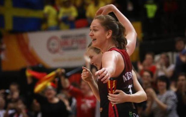 """Emma Meesseman """"reconnaissante et heureuse"""" d'avoir été élue Sportive de l'Année"""