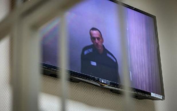L'opposant russe Navalny de retour dans sa colonie pénitentiaire