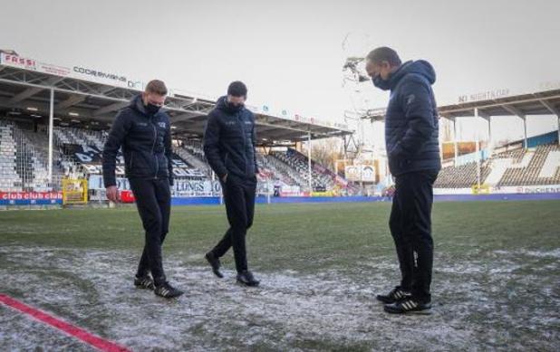 Pro League overlegt dinsdag over besneeuwde velden en reglement