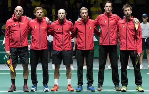 Coupe Davis - La Belgique face à l'Australie pour une place en quarts de finale