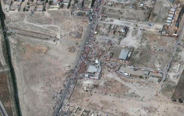 5.400 personnes dans l'aéroport de Kaboul attendent toujours d'être évacuées
