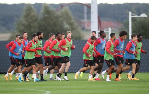 La Belgique jouera sa place de N.1 mondiale à l'Euro, la Macédoine du Nord 62e