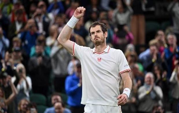 Wimbledon - Andy Murray knokt zich in vijf sets naar derde ronde