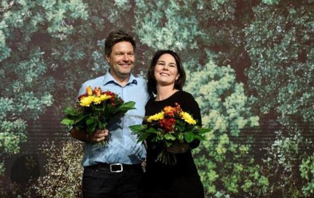 Allemagne: réélection triomphale du duo à la tête des Verts