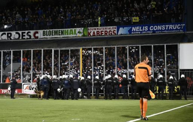 Jupiler Pro League - La police assure que les auteurs des incidents à St-Trond/Genk seront identifiés
