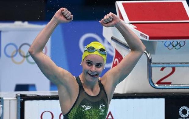 L'Australienne Kaylee McKeown championne olympique du 200 m dos, 2e médaille d'or à Tokyo