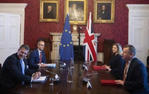 Onbegrip bij Europese Commissie na nieuwe ontmoeting met Britse regering