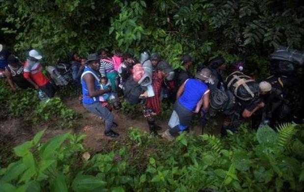 Environ 19.000 enfants ont traversé la jungle entre Colombie et Panama en 2021
